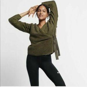 NWT Nike Long Sleeve training wrap top